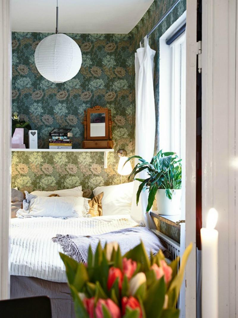 House of silver: hyggelig lille lejlighed med farver