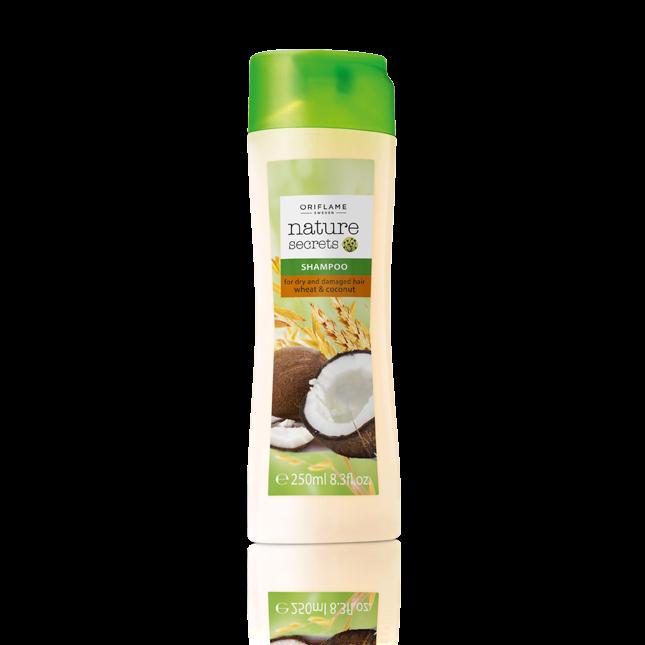 Шампунь для сухих и поврежденных волос «Пшеница и кокос»