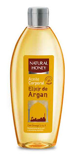 Aceite corporal Natural Honey Argán