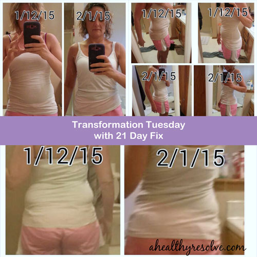 Gina's 21 Day Fix transformation!
