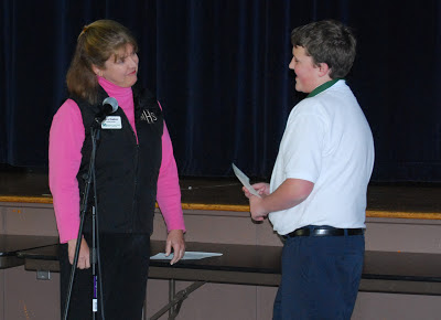 Writing, Winning and Giving! Montgomery Catholic Students Wins Essay Contest. 1