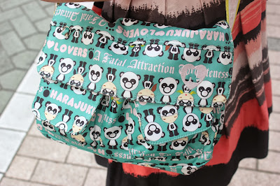 Panda Print Harajuku Lovers Bag