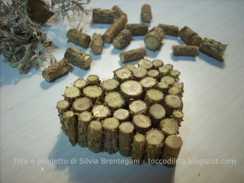 Decorazioni In Legno Natalizie : Tocco di li lla decorazioni natalizie in legno con tutorial