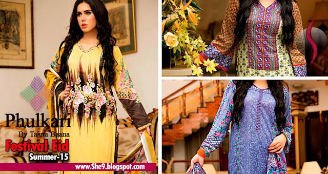 Taana Baana Eid Dresses for Phulkari