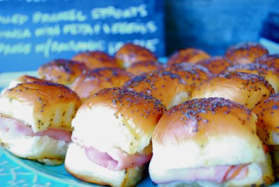 A Printable Recipe Go To There Them Warm Ham And Cheese Melted Together Between Soft Sweet Hawaiian Bun Smothered All Over With Sticky