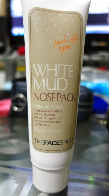 lunarrive thefaceshop white mud nose pack review suntec city sale singapore