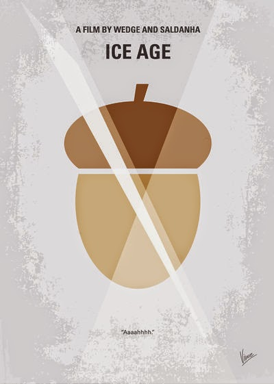 Minimalist Movie Posters Ice Age