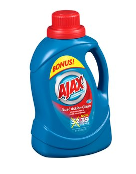 Walmart Deals Ajax Laundry Detergent 50 Cents Per Bottle