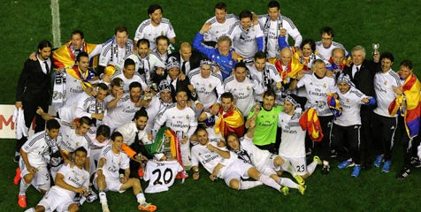 Real Madrid Juarai Final Copa Del Rey