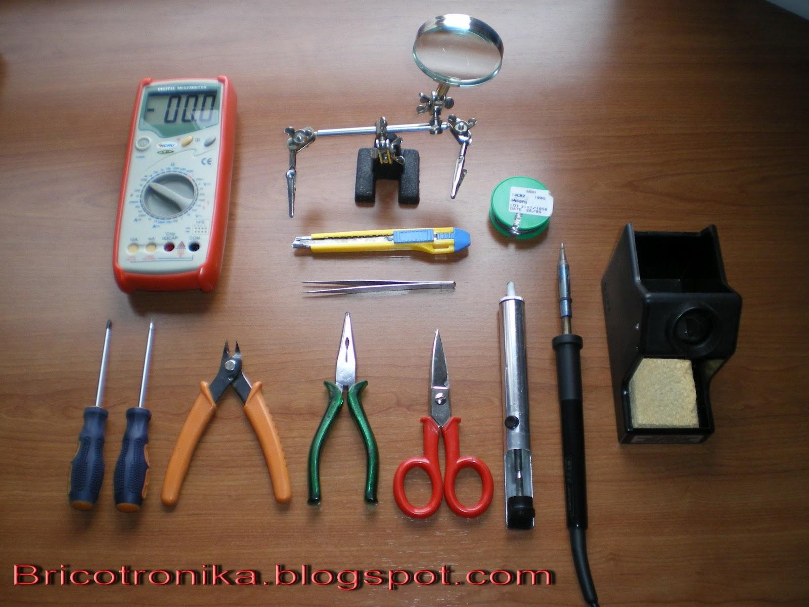 Bricotronika el taller de electr nica - El taller de pinero ...