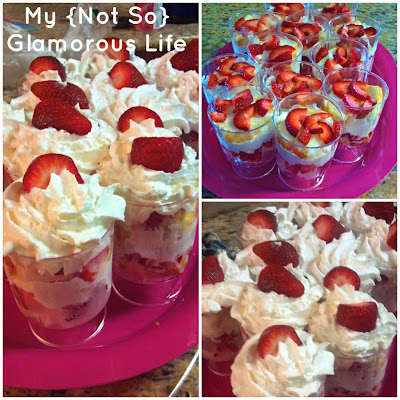 Strawberry Margarita Parfaits Recipes — Dishmaps