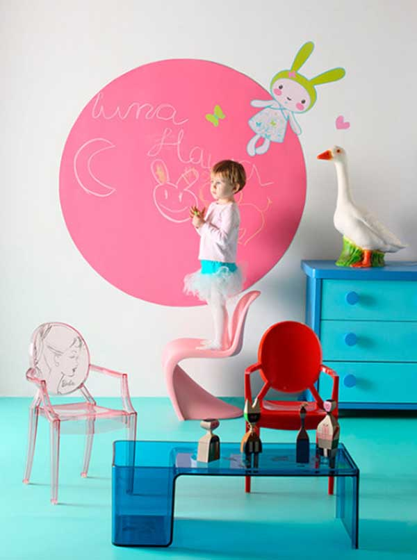 Ide s creatividad sobre pizarra - Pintura pizarra colores ...