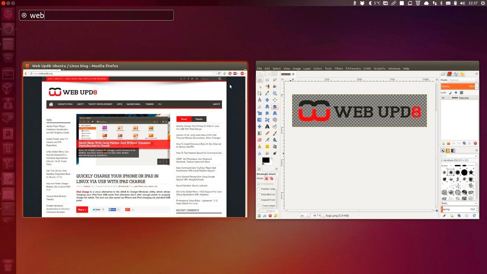 Google themes ubuntu 14.04 - Ubuntu 14 04 Screenshots