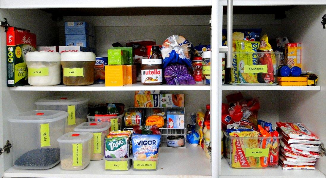 R organize super dica como organizar sua despensa - Armarios despensa ...