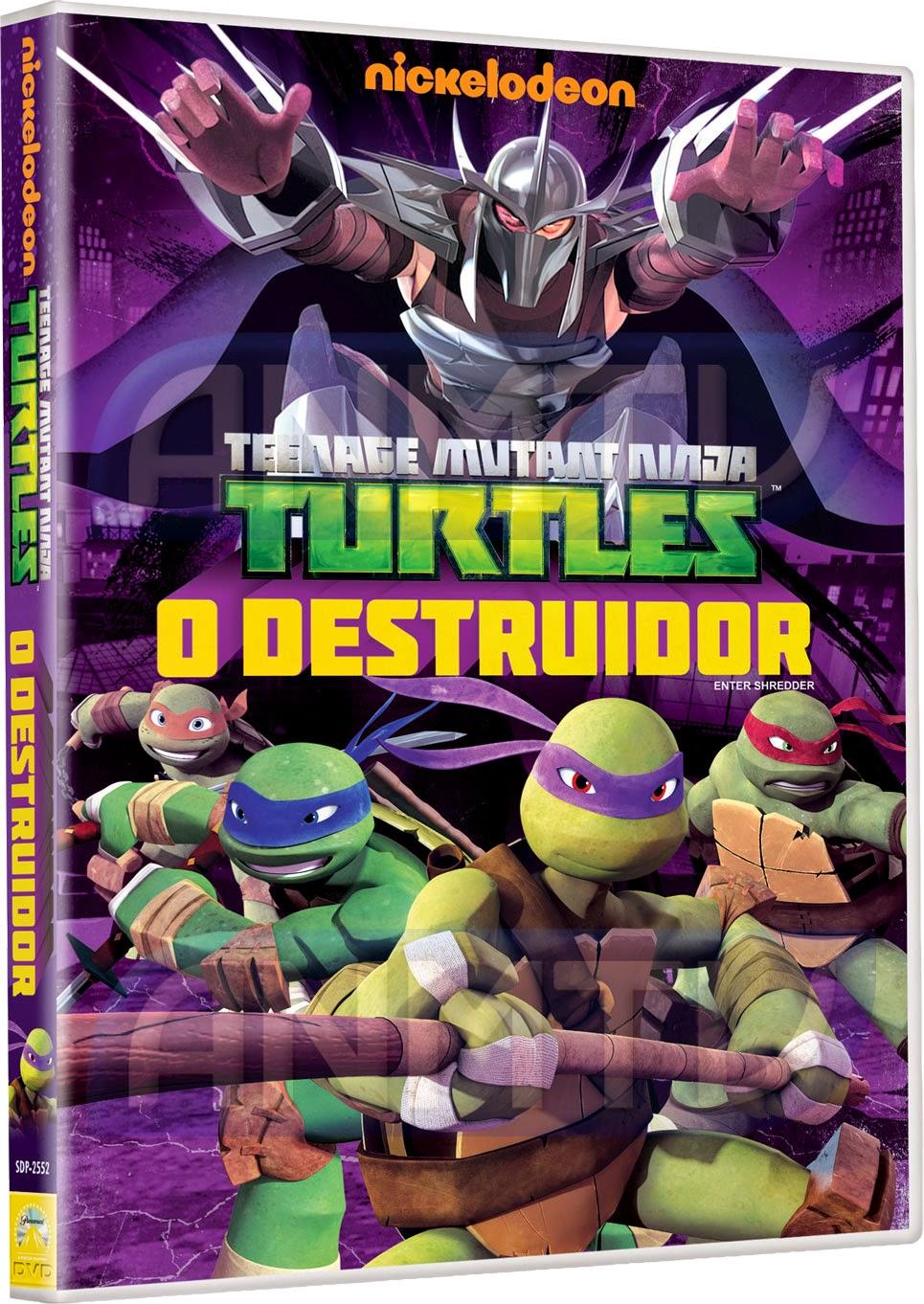 Baixar Filme   Tartarugas Ninja: O Destruidor   DVDRip AVI + RMVB Dublado