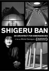 "Carátula del DVD: ""Shigeru Ban: Arquitectura de emergencia"""