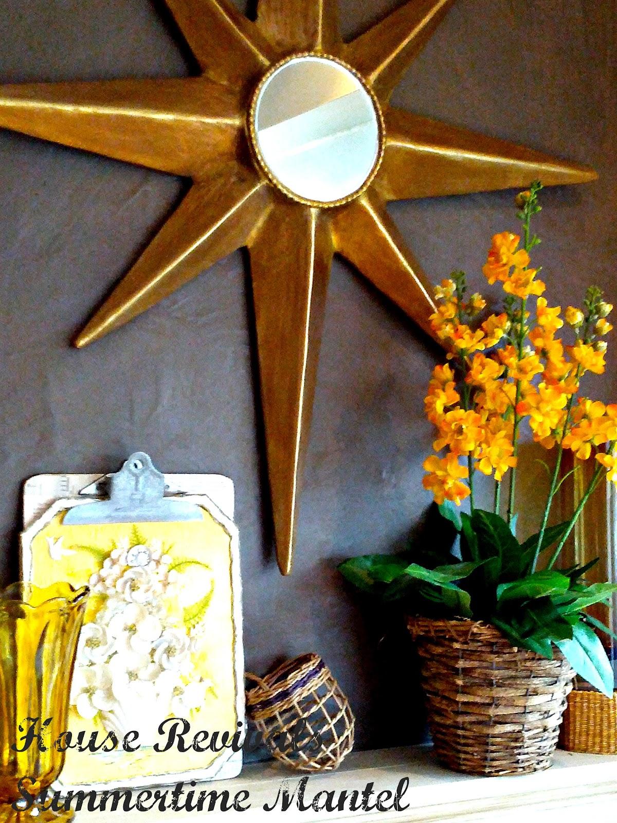 House Revivals How To Make A Paper Mache Star Burst Mirror