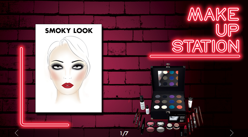 MAKE UP FOR EVER : Makeup Station