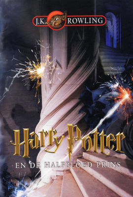 Harry Potter en de halfbloed prins J.K. Rowling cover