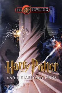 Harry Potter en de Halfbloed Prins, J.K. Rowling cover