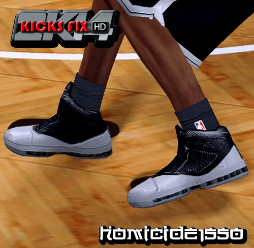NBA 2K14 Air Jordan 16 Retro - Joe Johnson PE Shoes