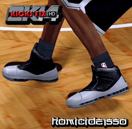 NBA 2K14 Air Jordan 16 Retro - Joe Johnson PE Shoes