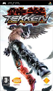 Tekken 5: Dark Resurrection PSP GAME