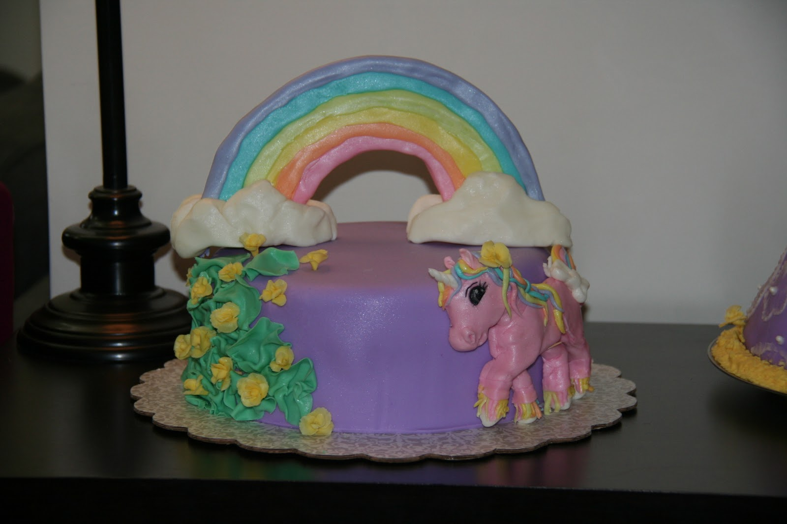 Bak N Time Rainbow Unicorn Cake