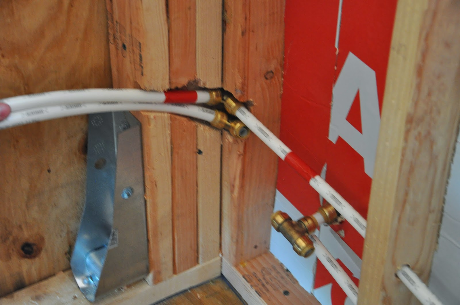 Tiny house plumbing how to get water in and out of your for How to plumb a house with pex