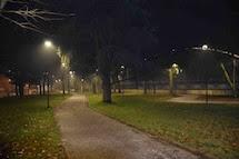 Parco lungotanaro Solferino e parcheggio ospedale, dalle stelle alle stalle