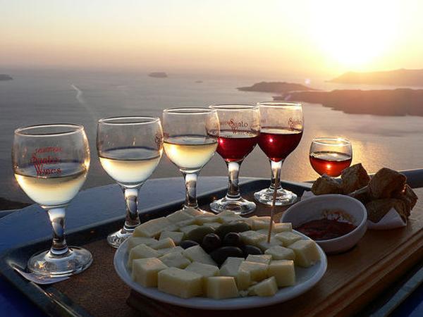Santorini Wine Tour Sunset