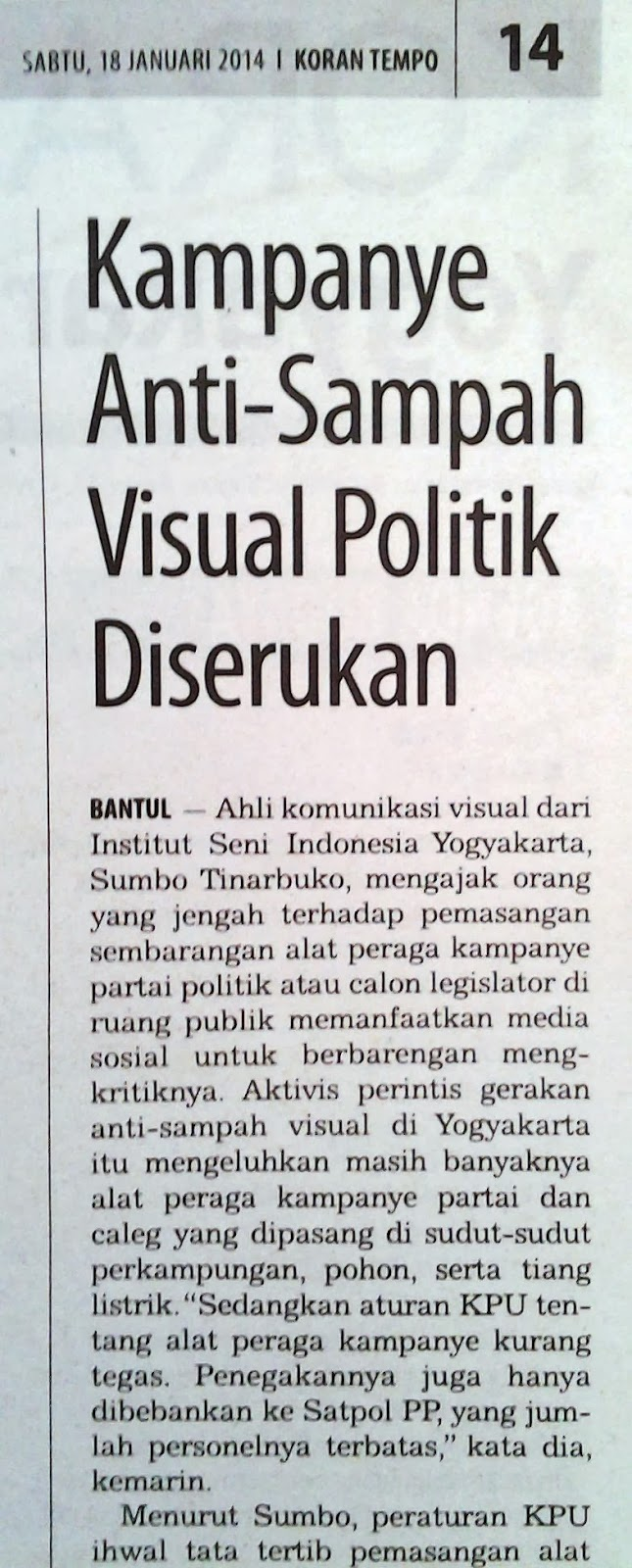 Anti-Sampah Visual