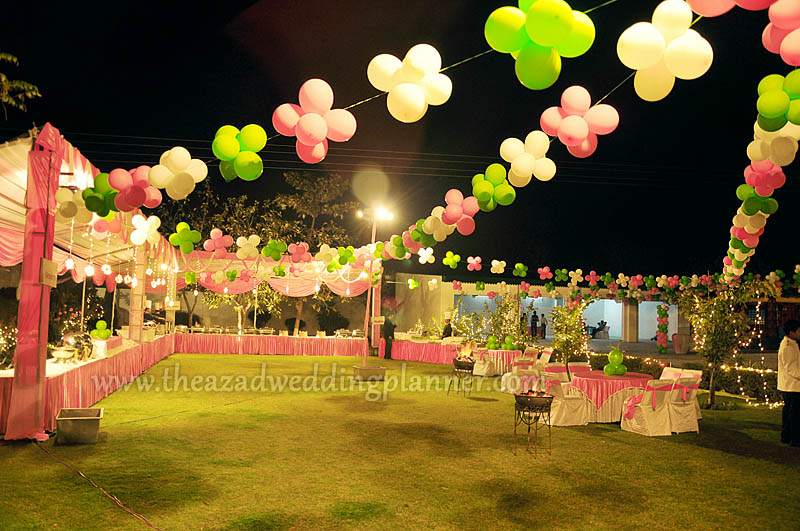 Outdoor Birthday Party Balloon Decoration Image Inspiration of
