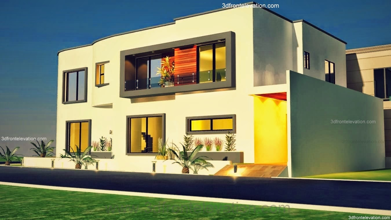 Front Elevation 10 Marla House : Marla house plans in india joy studio design gallery