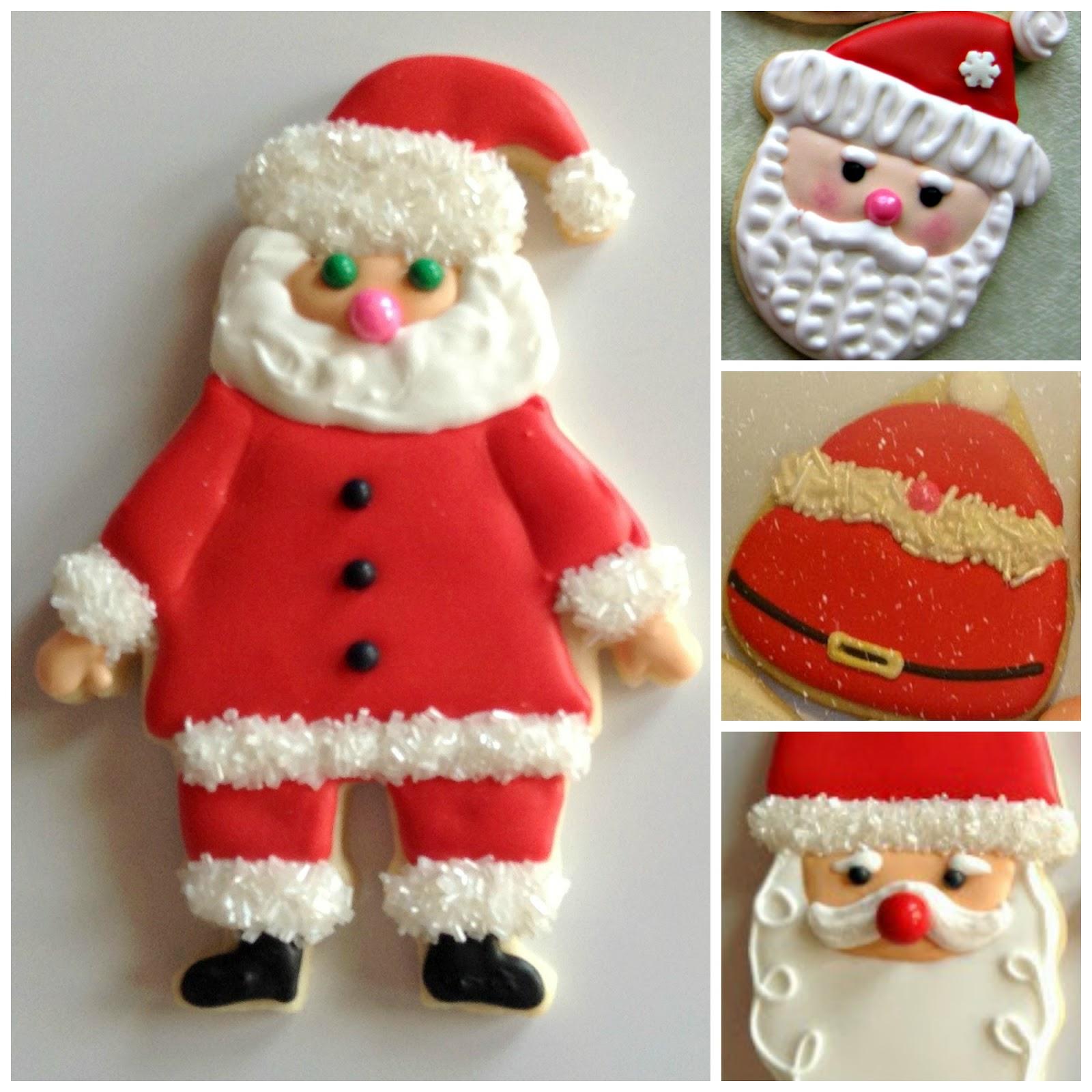 Diane S Cookies Santa Man