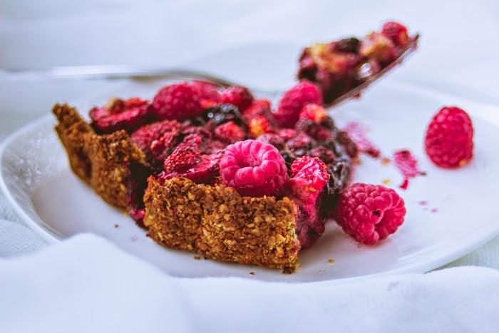 summer berry tart sugar free recipe