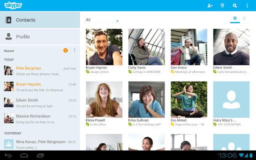 Skype - free IM & video calls v3.1.0.6458