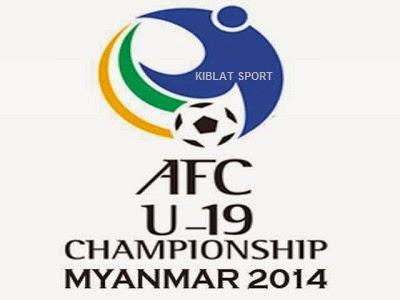 Jadwal & Hasil Pertandingan Piala Asia U-19, Minggu 12 Oktober 2014