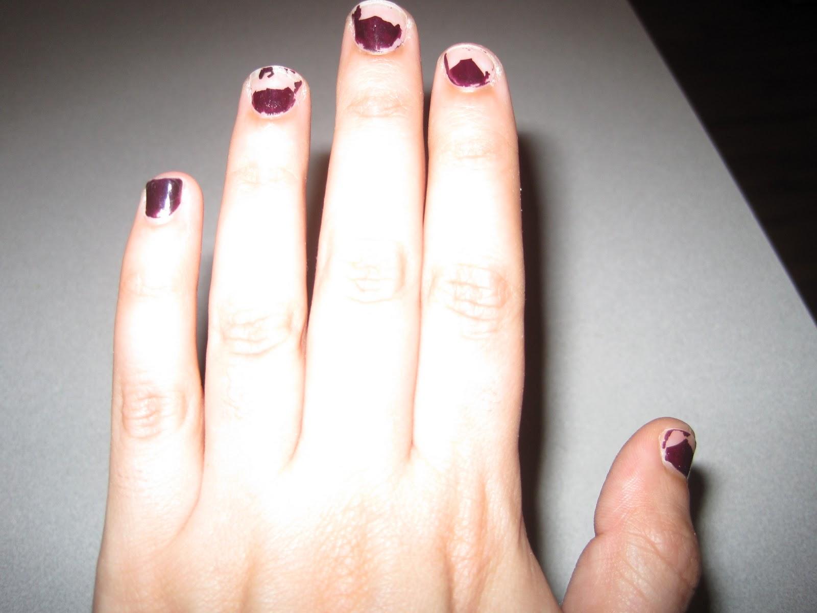 Самые страшные ногти на руках фото