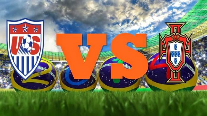 Prediksi Skor FIFA World Cup Terjitu Amerika USA vs Portugal jadwal 23 Juni 2014