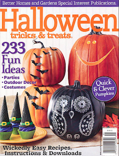 Vintage seance better homes and gardens halloween issue Better homes and gardens current issue