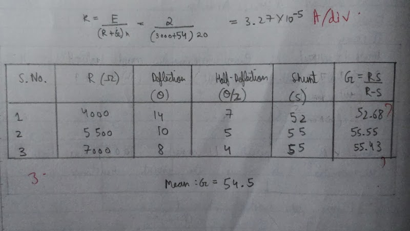 Cbseclass 12thphysics practical file readings clean the connecting wires with sand paper and make neat and tight connections as per the circuit diagram 2 from the high resistance box r box 1 1 10 keyboard keysfo Images