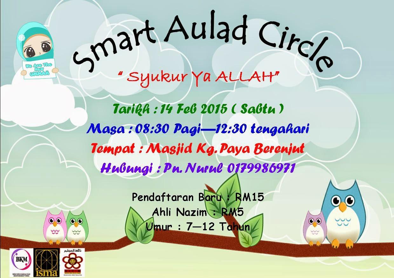Smart Aulad Circle Program Hujung Minggu Anak Anak