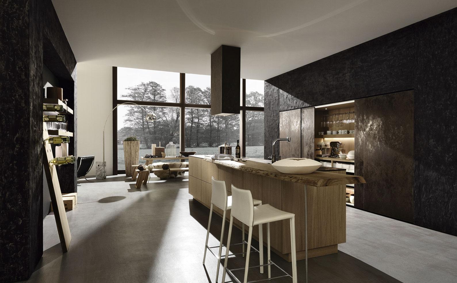 Una cocina para sibaritas cocinas con estilo for Ceramica para cocinas