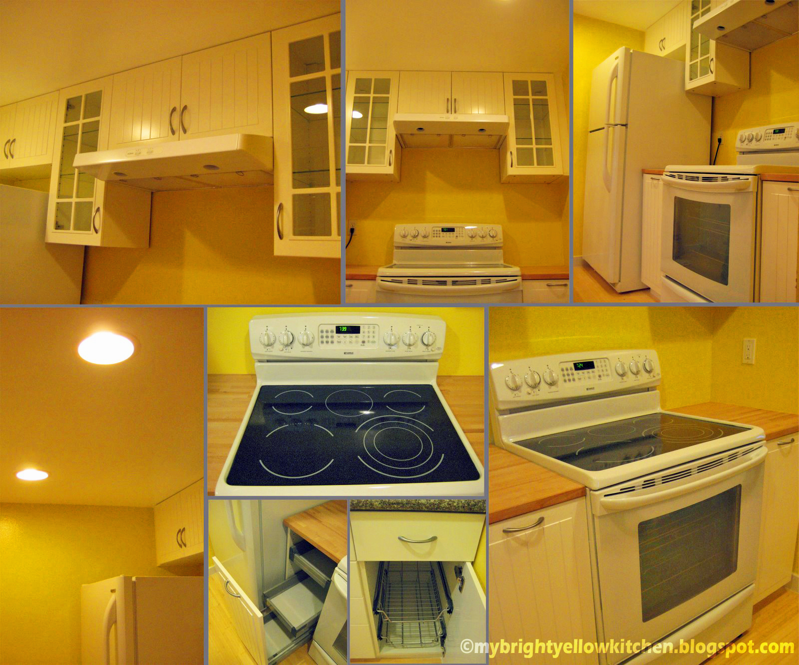 My Bright Yellow Kitchen
