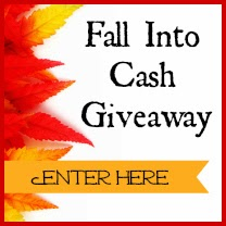 Enter the Fall into Cash Giveaway, $750 in prizes. Ends 10/27.