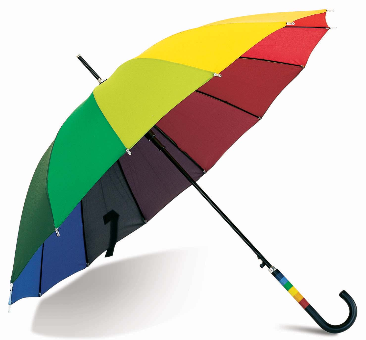 the umbrella Get in and out of any door without getting wet it makes a waterproof cone when closed — all the wetness stays inside, not on your floor.