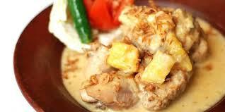 Resep Masakan Ayam gulung nanas saus putih lezat