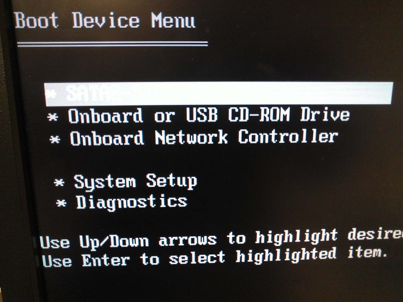how to turn on boot menu