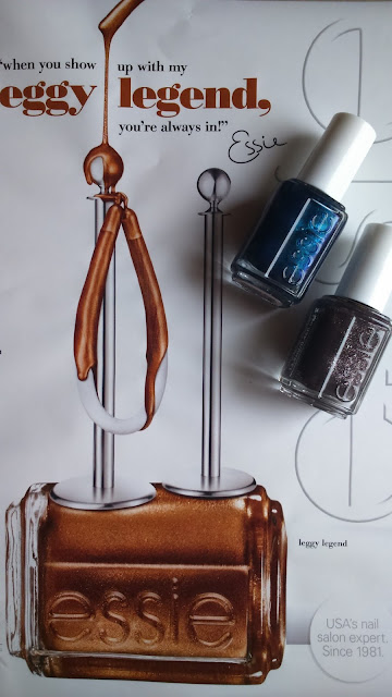 Essie Fall 2015 Collection Froc n'roll and Bell Bottom Blues